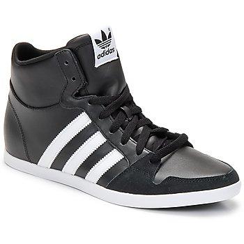 Chaussures Homme Baskets montantes adidas Originals ADILAGO MID Noir / Blanc