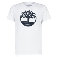 Vêtements Homme T-shirts manches courtes Timberland SS Brand Reg Tee WHITE Blanc