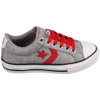Chaussures Tennis Converse Star Player EV Grey/Red Gris