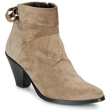 Chaussures Femme Bottines Regard RAKAF V3 CRTE VEL SILKY Beige