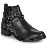 Chaussures Femme Boots Regard ROABIL V2 METALCRIS Noir