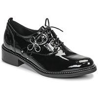 Chaussures Femme Derbies Regard ROAZU V2 VERNIS Noir