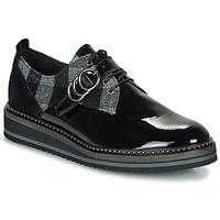 Chaussures Femme Derbies Regard ROCSI V3 VERNIS Noir