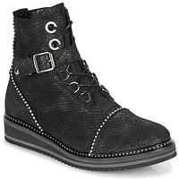 Chaussures Femme Boots Regard ROCTALY V2 CRTE SERPENTE SHABE Noir