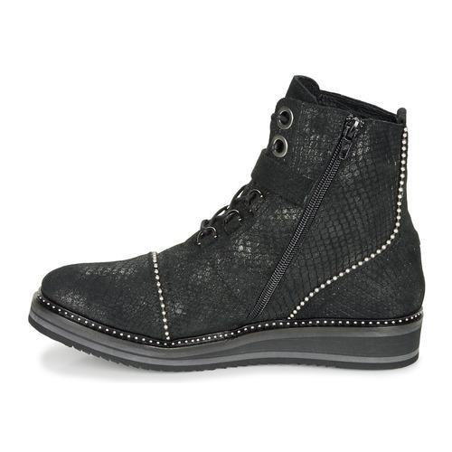 Regard Roctaly V2 Crte Serpente Shabe Noir - Livraison Gratuite- Chaussures Boot Femme 135