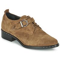 Chaussures Femme Derbies Philippe Morvan SAND V4 CRTE VEL Camel