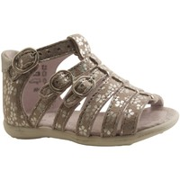 Chaussures Fille Sandales et Nu-pieds Little Mary GINA ARGENT