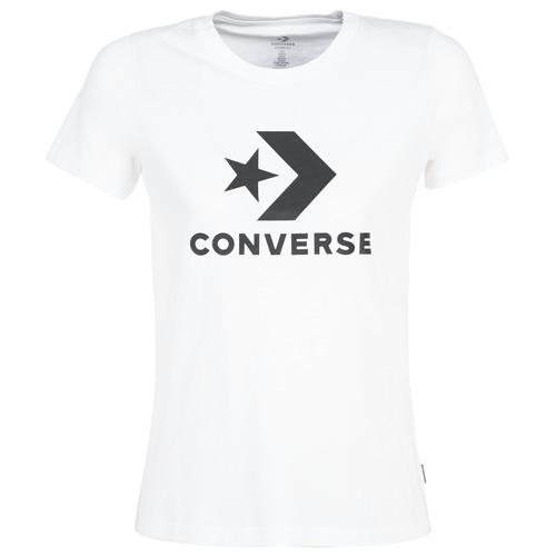 tee shirt blanc femme converse