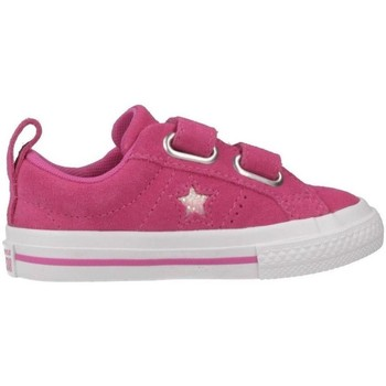 Chaussures Fille Baskets basses Converse one star 2v ox rose