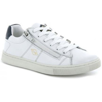 Chaussures Enfant Baskets basses Palladium basket-vesco blanc