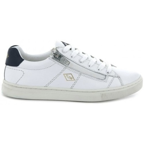 Chaussures Enfant Baskets basses Palladium basket-vesco blanc
