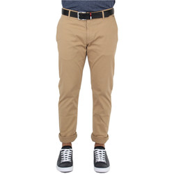 Vêtements Homme Chinos / Carrots Tommy Jeans Pantalon chino  ref_45697 Camel marron