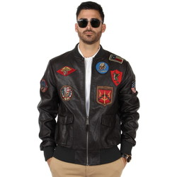 Vêtements Homme Vestes Top Gun Pilote  ref_46184 Marron marron