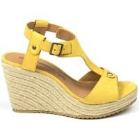 Chaussures Femme Sandales et Nu-pieds Chattawak sandales 7-LIVE Jaune Jaune
