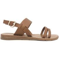 Chaussures Femme Sandales et Nu-pieds Chattawak sandales 7-RUBIS Camel Marron