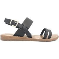 Chaussures Femme Sandales et Nu-pieds Chattawak sandales 7-RUBIS Noir Noir