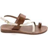 Chaussures Femme Sandales et Nu-pieds Chattawak sandales 7-VALERIANE Camel Marron