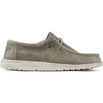 Chaussures Homme Derbies & Richelieu Dude WALLY M Chaussures SUEDE_TAN