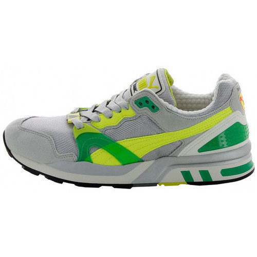 Chaussures Homme Running / trail Puma Basket Gris