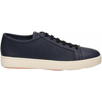 Chaussures Homme Baskets mode Santoni DERBY 6F BUCAT. GINGO u40-blu