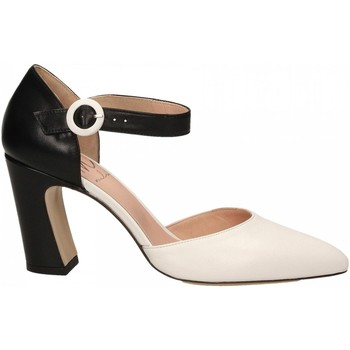 Chaussures Femme Sandales et Nu-pieds Malù NAPPA bianco---nero