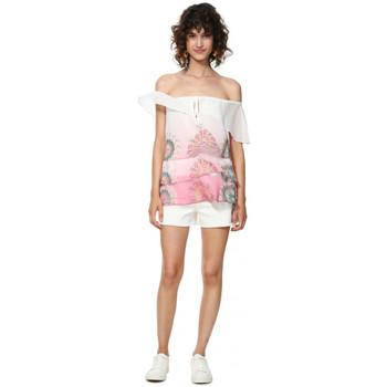 Vêtements Femme Tuniques Desigual Blouse Alyssa rose Marlen 19SWBW89
