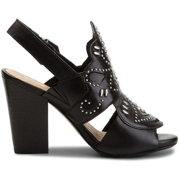 Chaussures Femme Sandales et Nu-pieds Bronx SCORPIO SLINGBACK ZWART Noir