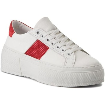 Chaussures Femme Baskets basses Bronx 66189 blanc