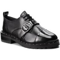 Chaussures Femme Derbies Bronx KINGDOM ZWART Noir