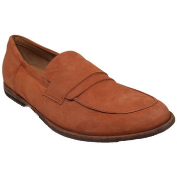 Chaussures Homme Mocassins Pantanetti 12604a orange