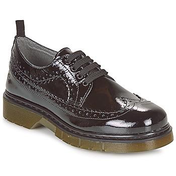 Chaussures Fille Derbies Citrouille et Compagnie LOUVINO Noir