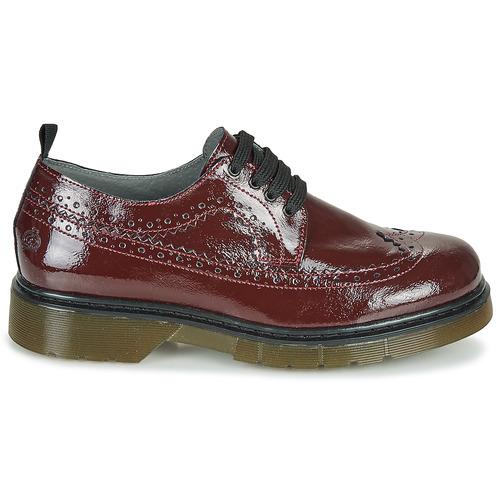 Loupiotte Et Compagnie Derbies Citrouille Chaussures Bordeaux Fille trdosQCBhx