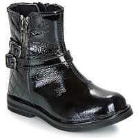 Chaussures Fille Boots Citrouille et Compagnie LIMIDOU Noir