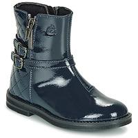 Chaussures Fille Boots Citrouille et Compagnie LIMIDOU Bleu
