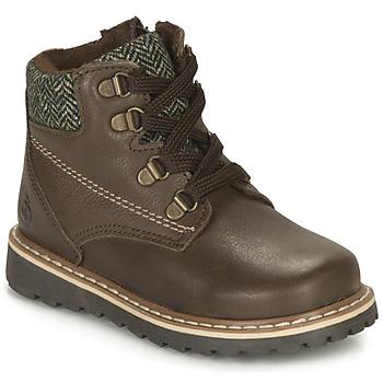 Chaussures Garçon Boots Kiwi Saint Tropez LINETTE Marron