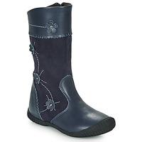 Chaussures Fille Bottes ville Citrouille et Compagnie AMATIS marine