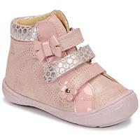 Chaussures Fille Boots Citrouille et Compagnie HODIL Rose