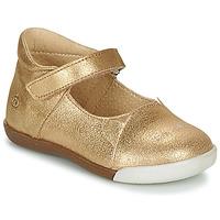Chaussures Fille Ballerines / babies Citrouille et Compagnie LAKALA Doré