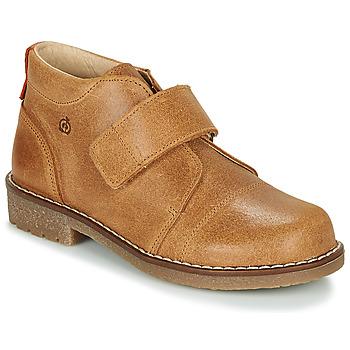 Chaussures Garçon Boots Citrouille et Compagnie LAPUPI Camel