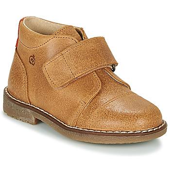 Chaussures Garçon Boots Kiwi Saint Tropez LAPUPI Camel