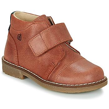 Chaussures Garçon Boots Kiwi Saint Tropez LAPUPI Marron