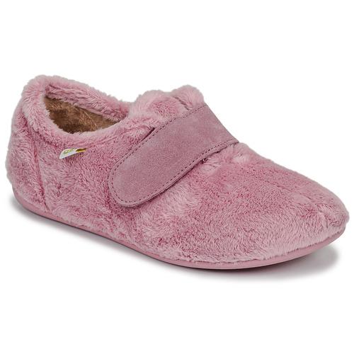 Chaussures Fille Chaussons Citrouille et Compagnie LAFINOU Rose