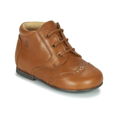 Chaussures Enfant Boots Citrouille et Compagnie LIMETTE Camel