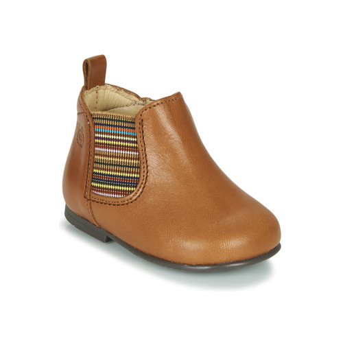 Chaussures Fille Boots Citrouille et Compagnie LISETTE Camel