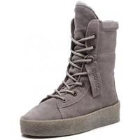 Chaussures Femme Boots Bronx 46995 gris