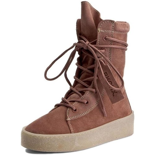 Chaussures Femme Boots Bronx 46961 rose