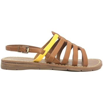 Chaussures Femme Sandales et Nu-pieds Chattawak sandales 7-SHIRLEY Camel/Jaune Marron
