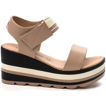 Chaussures Femme Sandales et Nu-pieds Chattawak sandales 7-PAVOT Poudre Rose