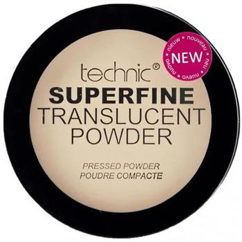 Beauté Femme Blush & poudres Technic Poudre compacte Superfine Transparente Beige