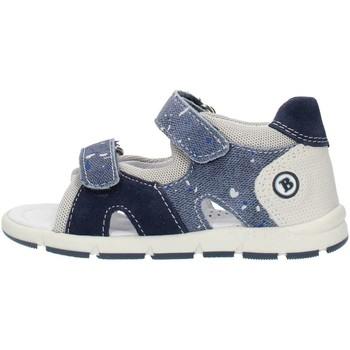 Chaussures Garçon Sandales et Nu-pieds Balocchi 493133 Bleu et gris